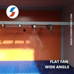 flat fan wide angle spray nozzle india